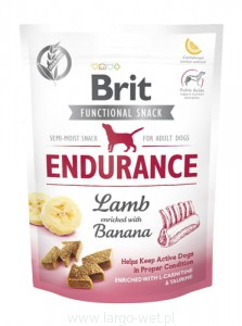 Brit Care Dog Functional Snack Endurance Lamb - 150G