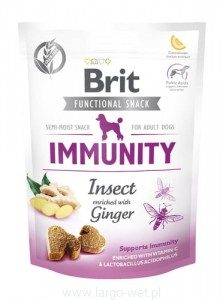 Brit Care Dog Functional Snack Immunity Insect - 150G