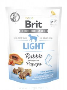 Brit Care Dog Functional Snack Light Rabbit - 150G