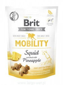 Brit Care Dog Functional Snack Mobility Squid - 150G