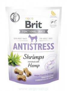 Brit Care Dog Functional Snack Shrimp Antistress - 150G